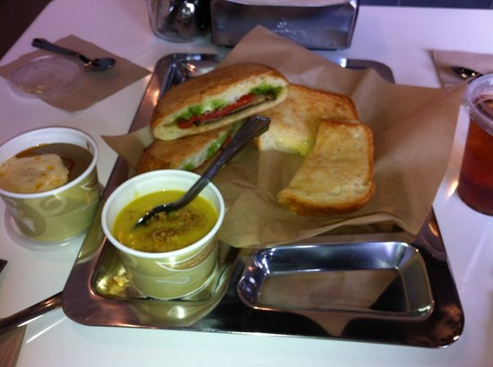 Volt Lunchbox: Tasty soup and sandwiches