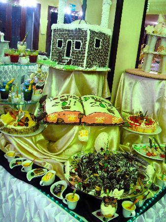 Jaz Dahabeya : Just a fraction of the New Years eve Buffet