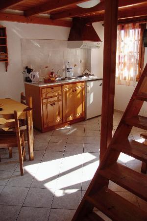 Nemesis Rooms & Apartments: Kitchen