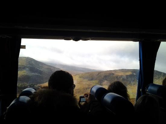 Wild Wicklow Tours: on the bus for our day long adventure