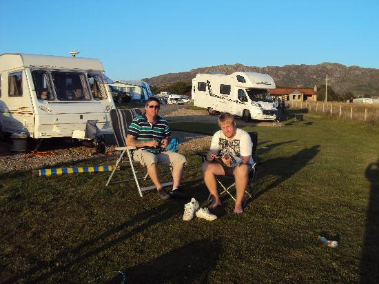 Sunnyside Croft Touring and Camping Site: Sunnyside
