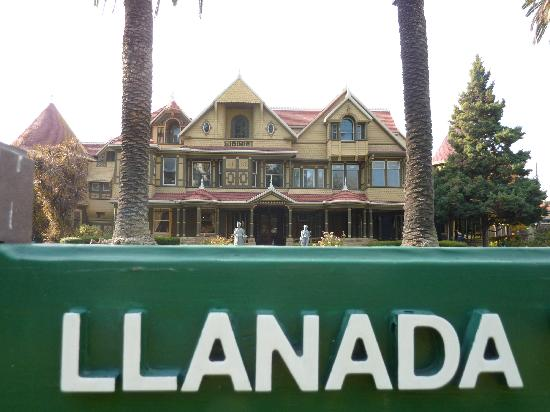 Winchester Mystery House: View From The Front. Winchester Gardens