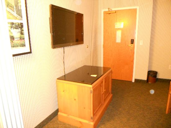 Woodlands Hotel & Suites - Colonial Williamsburg: Large Sony Flat Screen