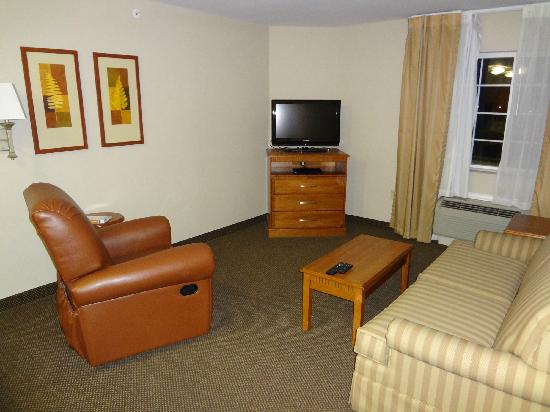 Candlewood Suites San Antonio NW Near Seaworld : Living room