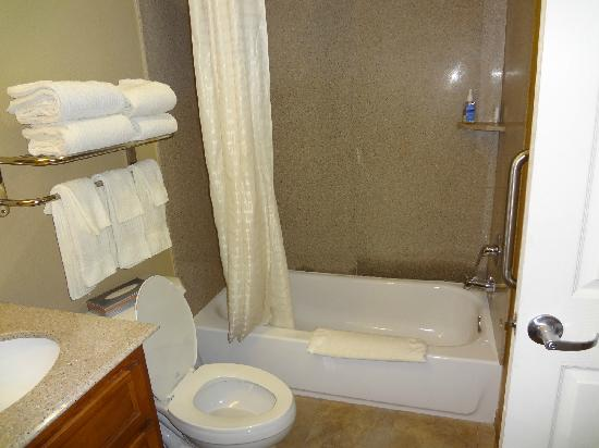 Candlewood Suites San Antonio NW Near Seaworld: Bathroom