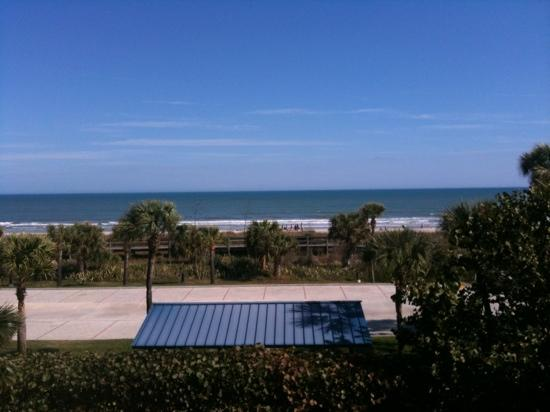 Inn at Cocoa Beach: view from room