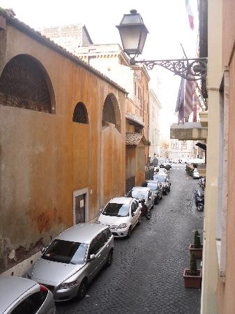 Hotel Santa Prassede : View from room 11