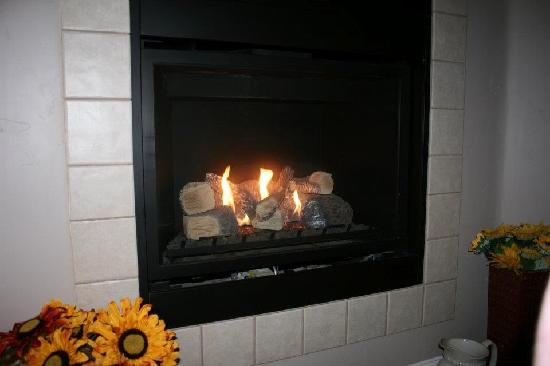 Belvino Viaggio: Fireplace