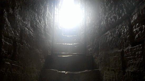 Inside Maiden Tower Baku, Azerbaijan