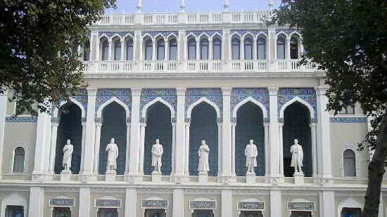 Ninzami Theatre Baku,Azerbaijan