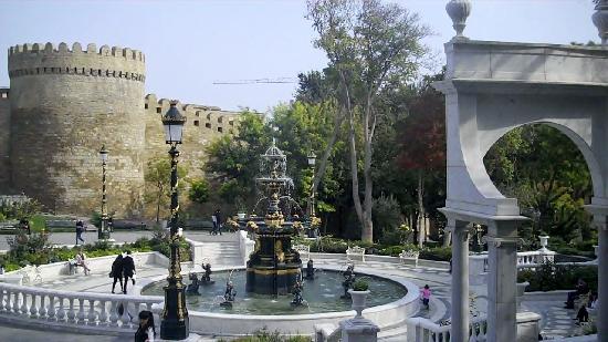 Philaharmonic Park Baku,Azerbaijan