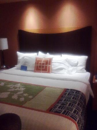 Fairfield Inn & Suites Tampa Fairgrounds/Casino: Wonderful Marriott bed