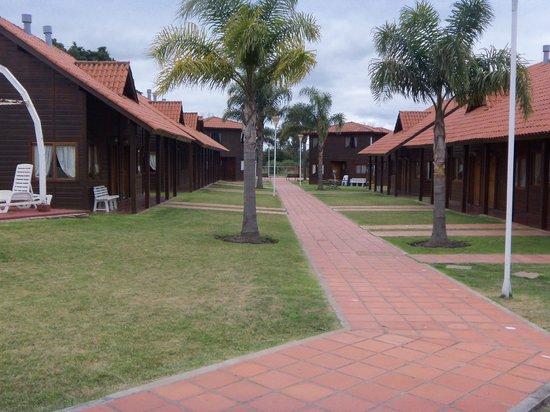 Hotel Termal Dayman: Vista de bungalows