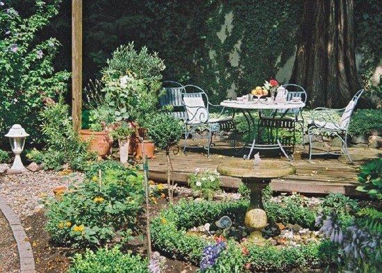 Hotel Residenz Joop: Gartenterrasse