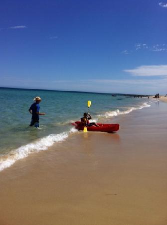Carrickalinga, Αυστραλία: kayaking in carri