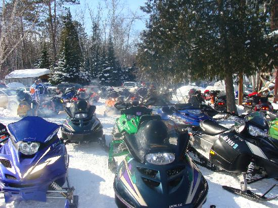 Bay View Lodge: winter fun
