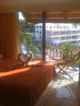 Koox Caribbean Paradise Hotel: Bäddat och klart