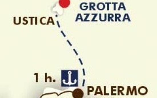 Hotel Grotta Azzurra : Map