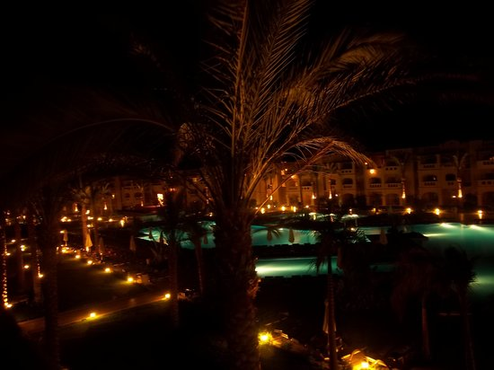 Rixos Sharm El Sheikh: @night from my room