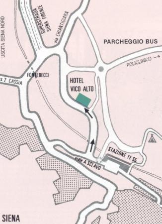 Hotel Vico Alto: map 2