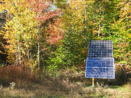 Nurture Through Nature Eco-cabin Rentals and Retreats: All of our facilities are off the grid!