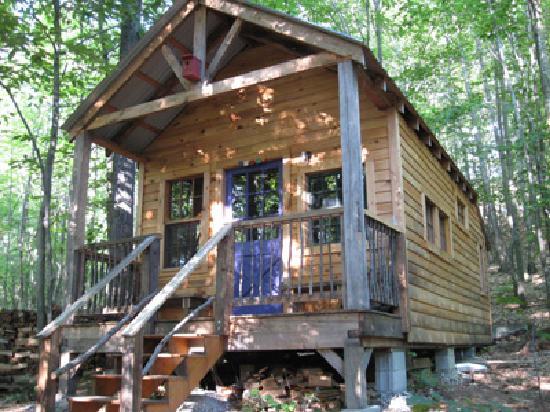 Nurture Through Nature Eco-cabin Rentals and Retreats: Our most private eco-cabin.