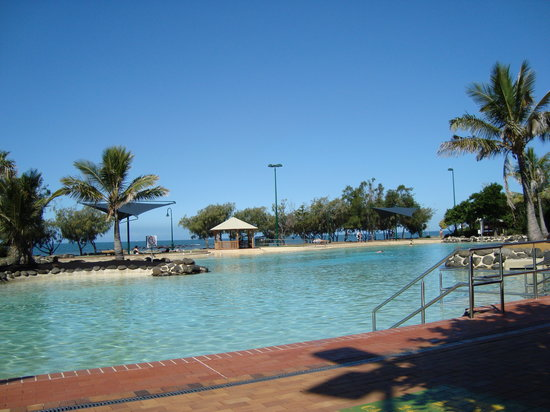 Redcliffe, Australien: When it's quiet!