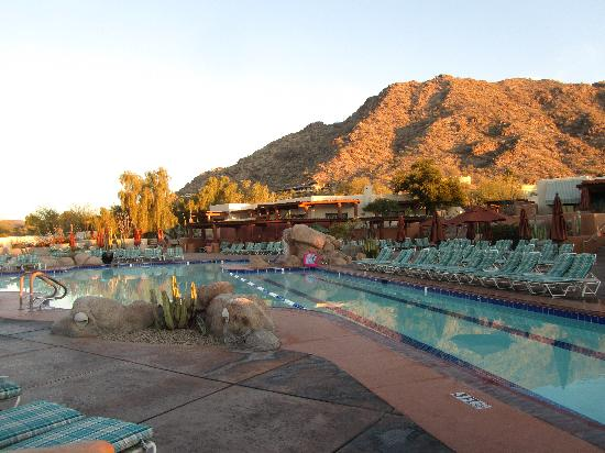 Pool Area Picture Of Jw Marriott Scottsdale Camelback