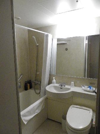 Hotel Mets Shibuya: 大きめのバスタブでリラックスできました。