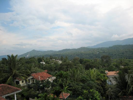 Villa Sandalwood: view from the terrace