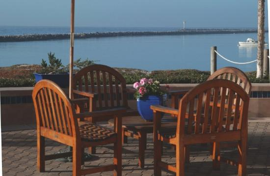 Beach House at Half Moon Bay: Ocean Terrace Patio