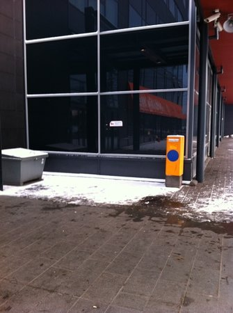 Break Sokos Hotel Flamingo:                   место для курения
