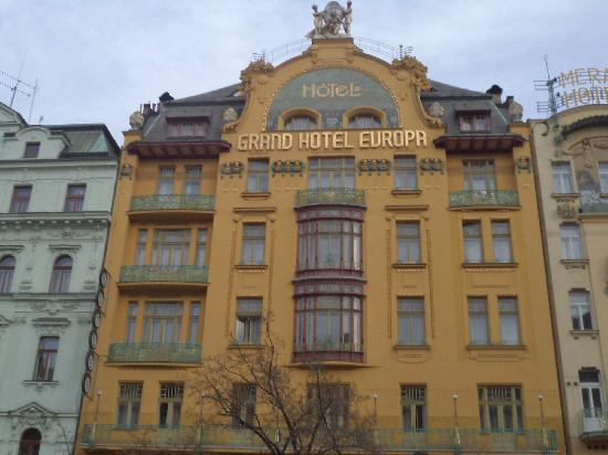 Czech white wine picture of grand hotel europa prague for Europe hotel prague