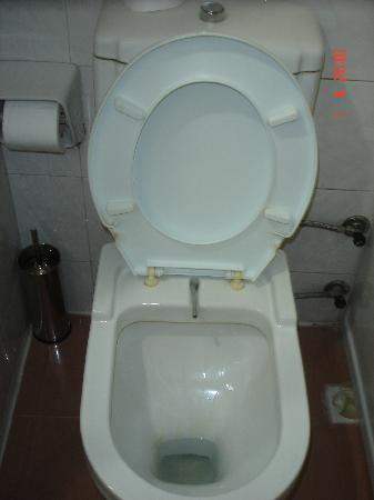 Grand Madrid Hotel: filthy toilet