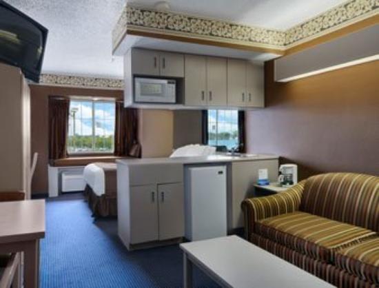 Microtel Inn & Suites by Wyndham Houston: Suite