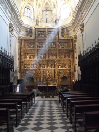 Rascafria, Espagne : Altar Mayor