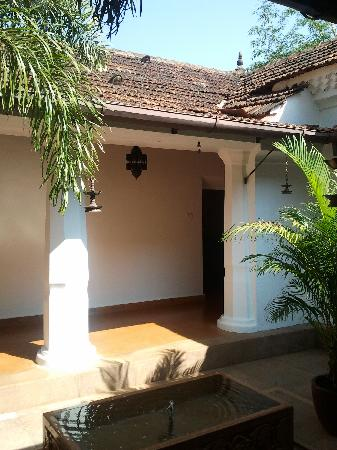 The Villa Goa: The Courtyard