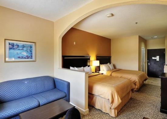 Comfort Suites Near the Woodlands: TXComfort Suites Queen Room Exposio