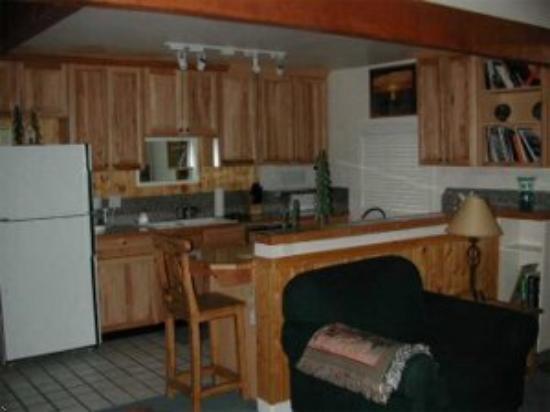 Three Kings Resort: Condo Kitchen & Dining Area