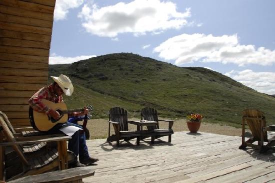 La Reata Ranch: Das Foto ist keineswegs gestellt