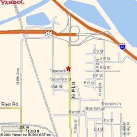 صن كانتري إن: Map