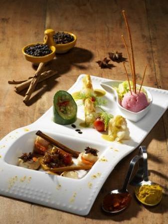 La Estancia : plats