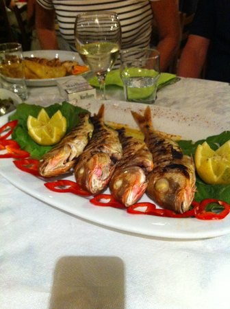 Elia Restaurant: Fresh fish from the day! Very nice!