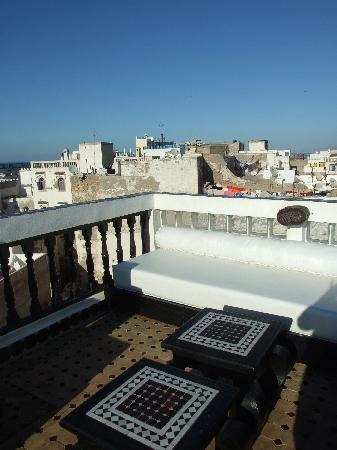 Riad Bab Essaouira : the roof terrace