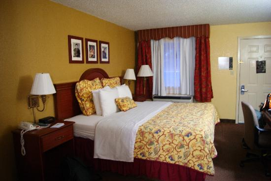 Days Inn Memphis at Graceland: King bed Days Inn