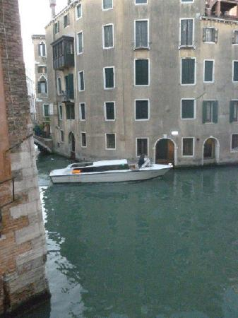Hotel Riva: View from second floor room
