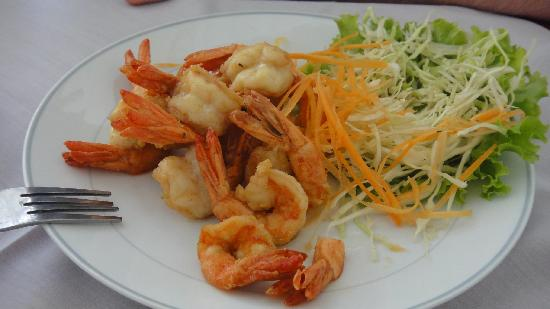 Ying Restaurant: Some dilicious shrimps