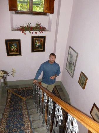 Villa Porta all'Arco : Stairwell