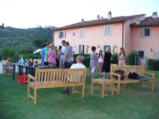 Agriturismo Borgo Casorelle: Pizzaabend