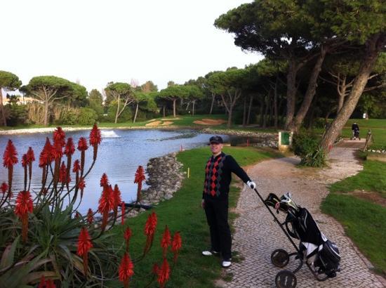 Golf Quinta da Marinha : smukt par 3 hul